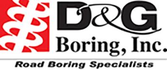 D&G Boring, Inc. Logo